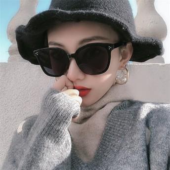 \コーデの仕上げ、ワンポイントに /韓国ファッション サングラス UVカット 通販 レディース メンズ ボストン 丸型 ファッショングラス カラーレンズ かわいい おしゃれ UV99%カット 紫外