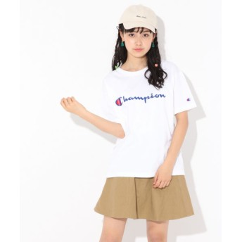 (repipi armario/レピピアルマリオ)☆Champion×repipi☆ビッグTシャツ/ [.st](ドットエスティ)公式