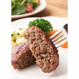 肉のふがね 岩手短角和牛100%ハンバーグ4個セット