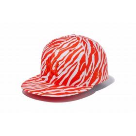 【ニューエラ公式】 9FIFTY ゼブラ ニューヨーク・ヤンキース Diamond Era オレンジ × オレンジエイド メンズ レディース 57.7 - 61.5cm MLB キャップ 帽子 11899172 NEW ERA