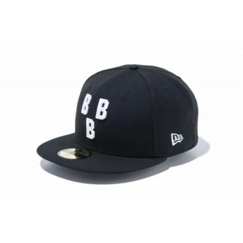 NEW ERA ニューエラ 59FIFTY ニグロリーグ バーミンガム・ブラックバロンズ ブラック × ホワイト ベースボールキャップ キャップ 帽子 メンズ レディース 7 (55.8cm) 11781719 NEWERA