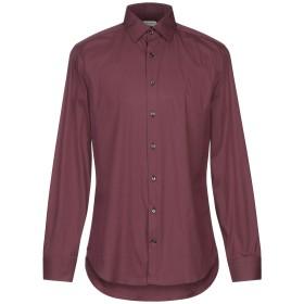 《期間限定セール開催中!》LIBERTY ROSE メンズ シャツ ディープパープル 41 コットン 97% / ポリウレタン 3%
