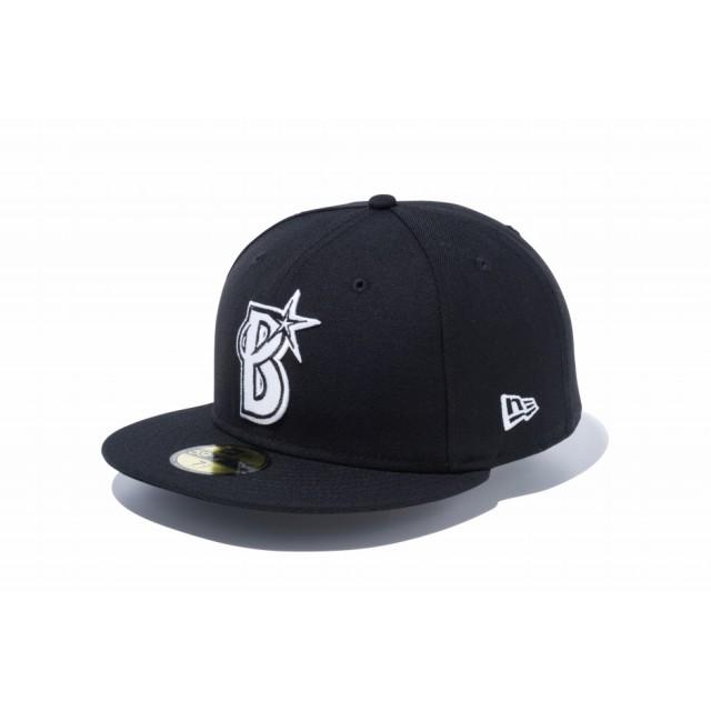 NEW ERA ニューエラ 59FIFTY NPB 横浜DeNAベイスターズ ブラック × ホワイト ベースボールキャップ キャップ 帽子 メンズ レディース 7 (55.8cm) 12026762 NEWERA