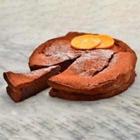 「南の島のオレンジ」屋久島たんかんショコラ まるごと21cm×1ホール