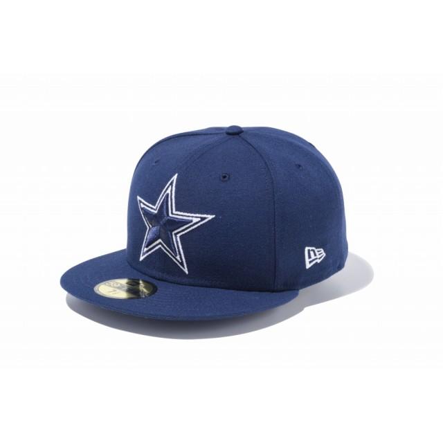 NEW ERA ニューエラ 59FIFTY NFL ダラス・カウボーイズ オーシャンサイドブルー × チームカラー ベースボールキャップ キャップ 帽子 メンズ レディース 7 (55.8cm) 11434039 NEWERA