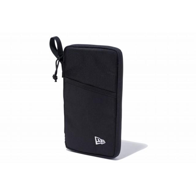 【ニューエラ公式】 パスポートケース ブラック メンズ レディース ワンサイズ ケース ポーチ 11901464 NEW ERA