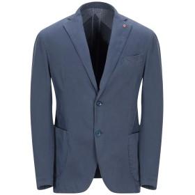 《セール開催中》JERRY KEY メンズ テーラードジャケット ブルーグレー 44 コットン 97% / ポリウレタン 3%