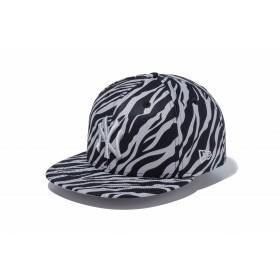 【ニューエラ公式】 9FIFTY ゼブラ ニューヨーク・ヤンキース Diamond Era グレー × クラウド メンズ レディース 57.7 - 61.5cm MLB キャップ 帽子 11899174 NEW ERA
