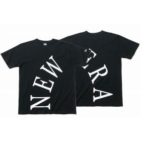 【ニューエラ公式】 コットン Tシャツ ビッグセリフ ニューエラ ブラック メンズ レディース Large Tシャツ 11900242 NEW ERA