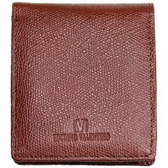 ルチアーノ バレンチノ LUCIANO VALENTINO 二つ折財布 短財布 牛革 メンズ LUV-9002-BR ブラウン ブラウン