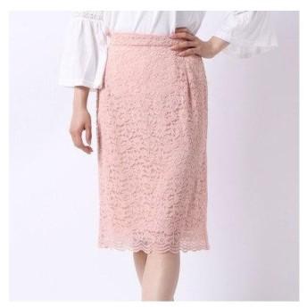 アメリカン ホリック AMERICAN HOLIC outlet レースタイトスカート (ピンク)