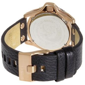 ディーゼル DIESEL ロールケージ ROLLCAGE クオーツ メンズ 腕時計 DZ1754 ブラック ブラック