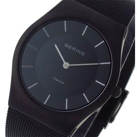ベーリング BERING クオーツ ユニセックス 腕時計 11935-222 ブラック ブラック