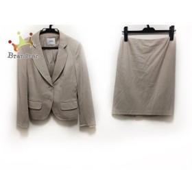 ユマエストネーション UMA ESTNATION スカートスーツ サイズ38 M レディース ベージュ   スペシャル特価 20190903