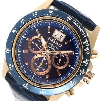セイコー SEIKO ロード LOAD クオーツ メンズ 腕時計 SPC238P1 ネイビー ネイビー