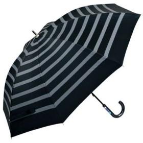 (BACKYARD FAMILY/BACKYARD FAMILY)アテイン ATTAIN 晴雨兼用 手開き 長傘/ユニセックス ブラック