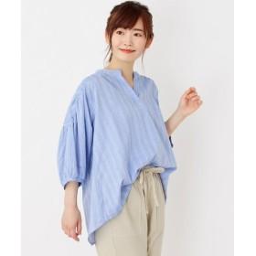 3can4on / サンカンシオン 【洗える】スキッパーシャツ