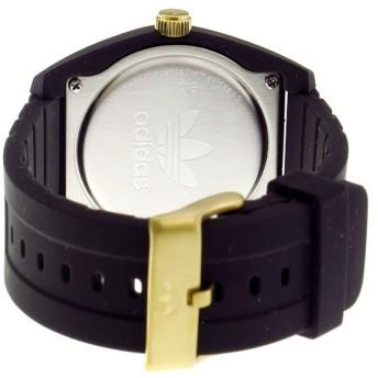 アディダス ADIDAS サンティアゴ SANTIAGO クオーツ メンズ 腕時計 ADH3197 ブラック/ゴールド ブラック