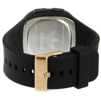 アディダス ADIDAS オリジナルス デンバー ユニセックス 腕時計 ADH3085 ブラック/ピンクゴールド 液晶