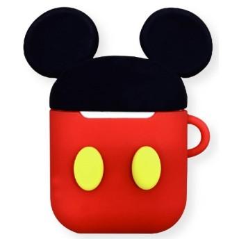 ディズニーキャラクター AirPodsシリコンケース ミッキーマウス