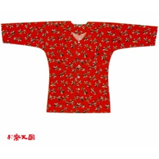【お祭り用品・衣装】 鯉口シャツ のしめ S-L C76015