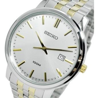 セイコー SEIKO クオーツ メンズ 腕時計 SUR111P1 シルバー シルバー