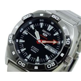 セイコー ファイブ SEIKO 5 スポーツ SPORTS 自動巻き 腕時計 SRP285J1 ブラック ブラック
