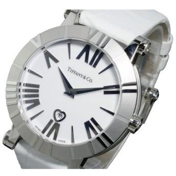 ティファニー TIFFANY&CO アトラス ATLAS クオーツ レディース 腕時計 Z1301.11.11A20A71A ホワイト