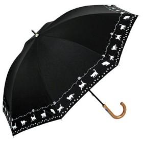 (BACKYARD FAMILY/BACKYARD FAMILY)アテイン ATTAIN 晴雨兼用 手開き 長傘/ユニセックス ブラック系1