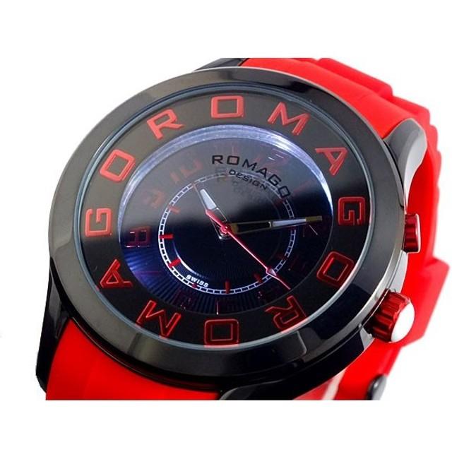 ロマゴ ROMAGO ATTRACTION 腕時計 RM015-0162PL-BKRD ブラック