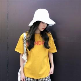 Tシャツ - G & L Style レディース 半袖 トップス カットソー シンプル カジュアル ロゴプリント 半袖Tシャツ 6282