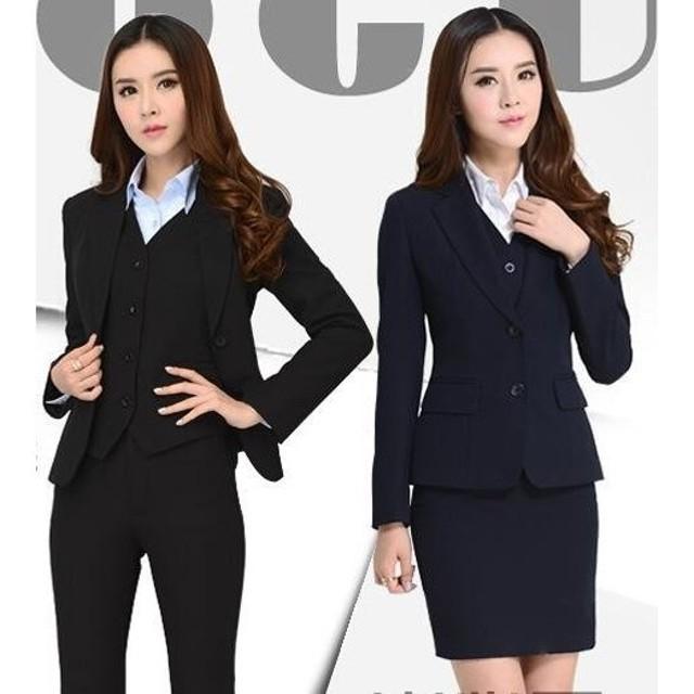 スーツ コート+ズボンorスカート レディース