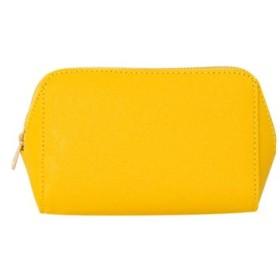 (cream dot/クリームドット)バッグの中をお洒落に整頓する、ころんと可愛いポーチ/レディース イエロー