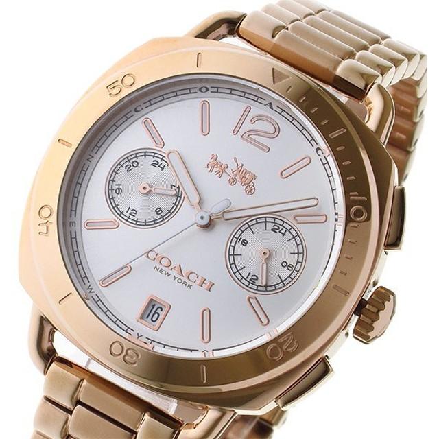 コーチ COACH テイタム TATUM クオーツ レディース 腕時計 14502604 シルバー/ローズゴールド シルバー