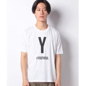 (SISLEY/シスレー)ハッシュタグメンズ半袖Tシャツ/メンズ ホワイト系その他5