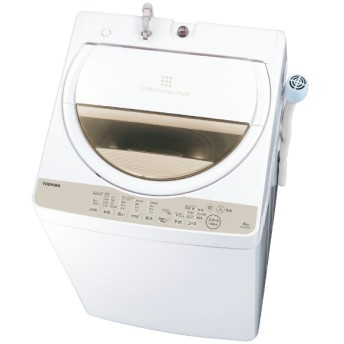 AW-6G8-W 全自動洗濯機 ZABOON(ザブーン) グランホワイト [洗濯6.0kg /上開き]