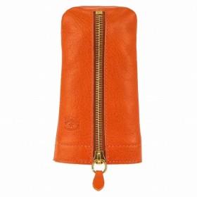 イルビゾンテ IL BISONTE キーケース メンズ レディース C1013-166 オレンジ オレンジ