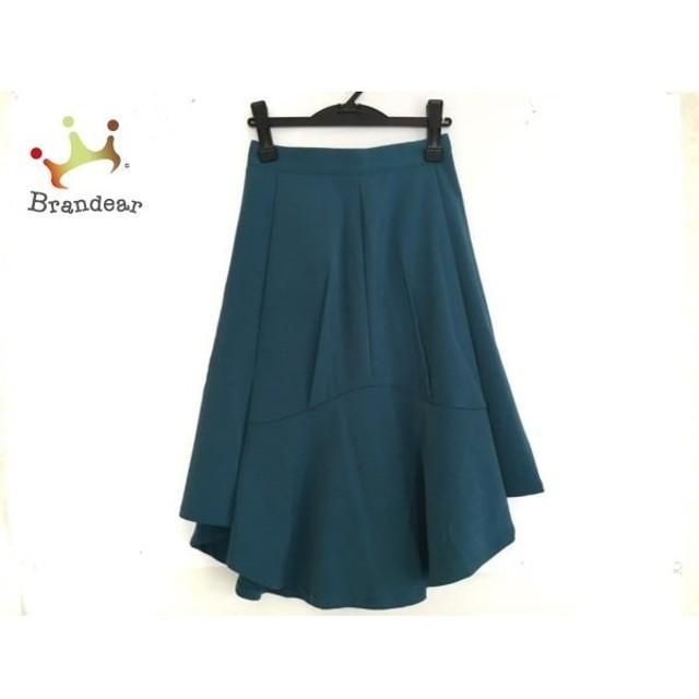 ウジョー Ujoh スカート サイズ2 M レディース 美品 グリーン   スペシャル特価 20190826