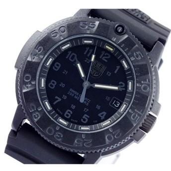ルミノックス LUMINOX ネイビーシールズ 腕時計 3001-BO ブラック ブラック