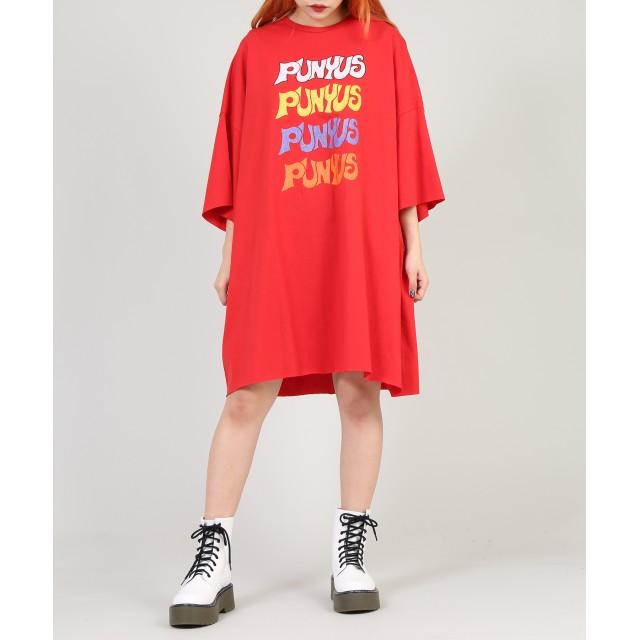 Tシャツ - PUNYUS 4連ロゴビッグTシャツ