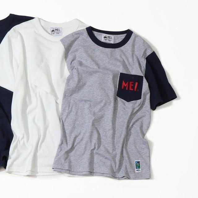 [マルイ]【セール】【GO OUT7月号掲載】【女性にも人気】MEI(メイ)別注ポケットTシャツ/コーエン(メンズ)(coen)