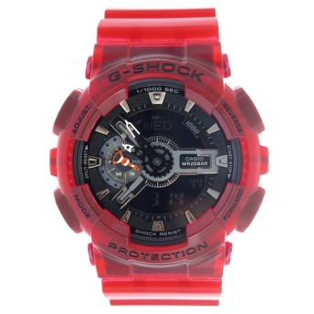 カシオ CASIO Gショック G-SHOCK メンズ 腕時計 GA-110CR-4AJF ブラック/レッド ブラック