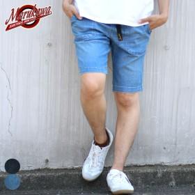 その他パンツ・ズボン - MARUKAWA エドウィン ハーフパンツ メンズ 夏 ジーニズム ストレッチ デニム ブルー S/M/L/XL【 ショートパンツ クライミングパンツジーンズ ボトム】