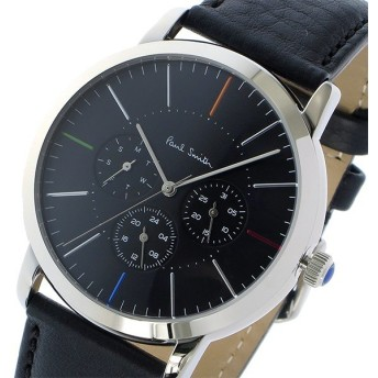ポールスミス PAUL SMITH エムエー MA クオーツ メンズ 腕時計 P10110 ブラック ブラック