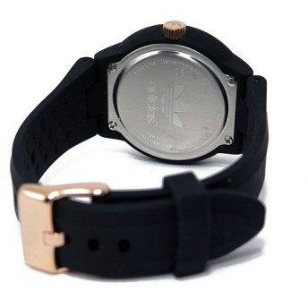 アディダス ADIDAS アバディーン クオーツ ユニセックス 腕時計 ADH3086 ブラック ブラック