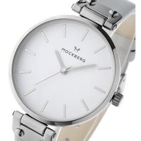 モックバーグ MOCKBERG ELSA クオーツ レディース 腕時計 MO1005 ホワイト ホワイト