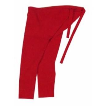 【お祭り用品】 カラー股引 赤 小-巾広 A1295