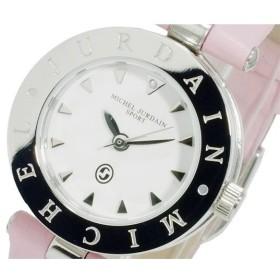 ミッシェルジョルダン MICHEL JURDAIN クオーツ レディース 腕時計 MJ-1500-4 ホワイト