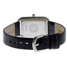 フェンディ FENDI クラシコ レクタンギュラー クオーツ レディース 腕時計 F702034011 ホワイト ホワイト