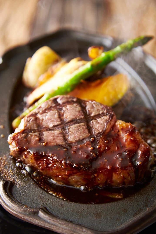 和牛のサーロインステーキ